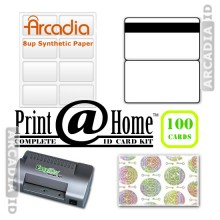 100 ID Card Kit
