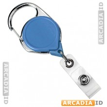Carabiner Badge Reel with Belt Clip