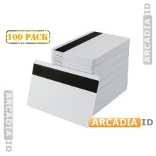 100 HICO White CR80 Cards