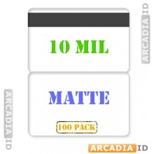 Matte Butterfly Pouches 10 mil with HiCo Magnetic Stripe - Pack of 100