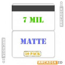 Matte Butterfly Laminating Pouch 7 mil with HiCo Magnetic Stripe - Pack of 50