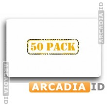 50 Clear ID Overlays