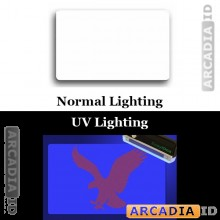 Clear ID Overlay ID Card Protective Overlay with UV Eagle