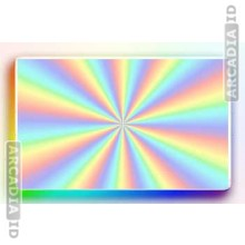 Radial Sweep ID Card Hologram Overlay