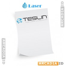 "Teslin Synthetic Paper - for Laser printers - 8.5"" x 11"" - Full Sheet  10 mil PPG TS1000 Grade 