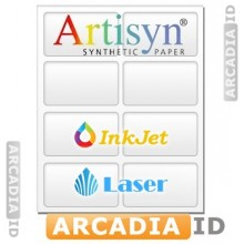 Artisyn Microperforated 8-up ID Card Punchouts - 8.5 x 11 Synthetic Paper 10 mil | SP_380