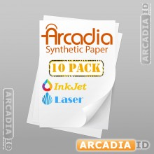 Package of 10 Full Sheets Arcadia Synthetic Paper