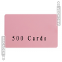 Blank CR80 ID Cards - Pick a Color - @ 500 pieces